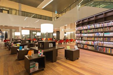 大和市大和市立図書館